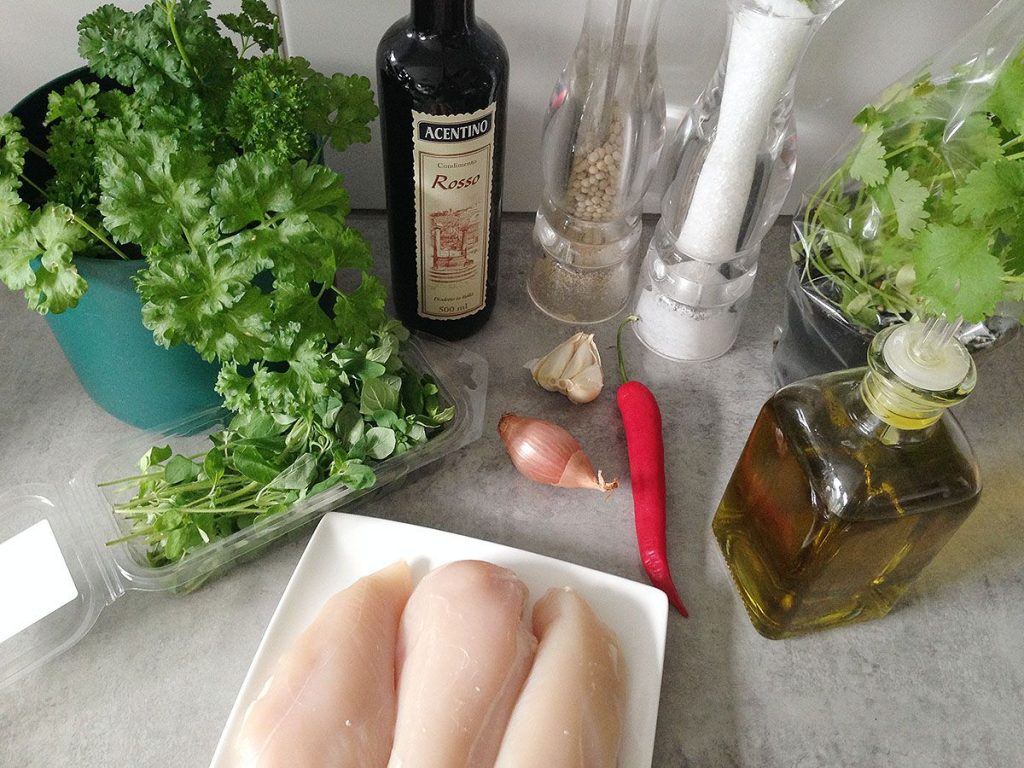Chimichurri bbq chicken ingredients