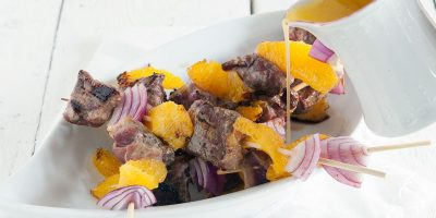 Duck kebabs with orange butter sauce 400x200 - Homepage