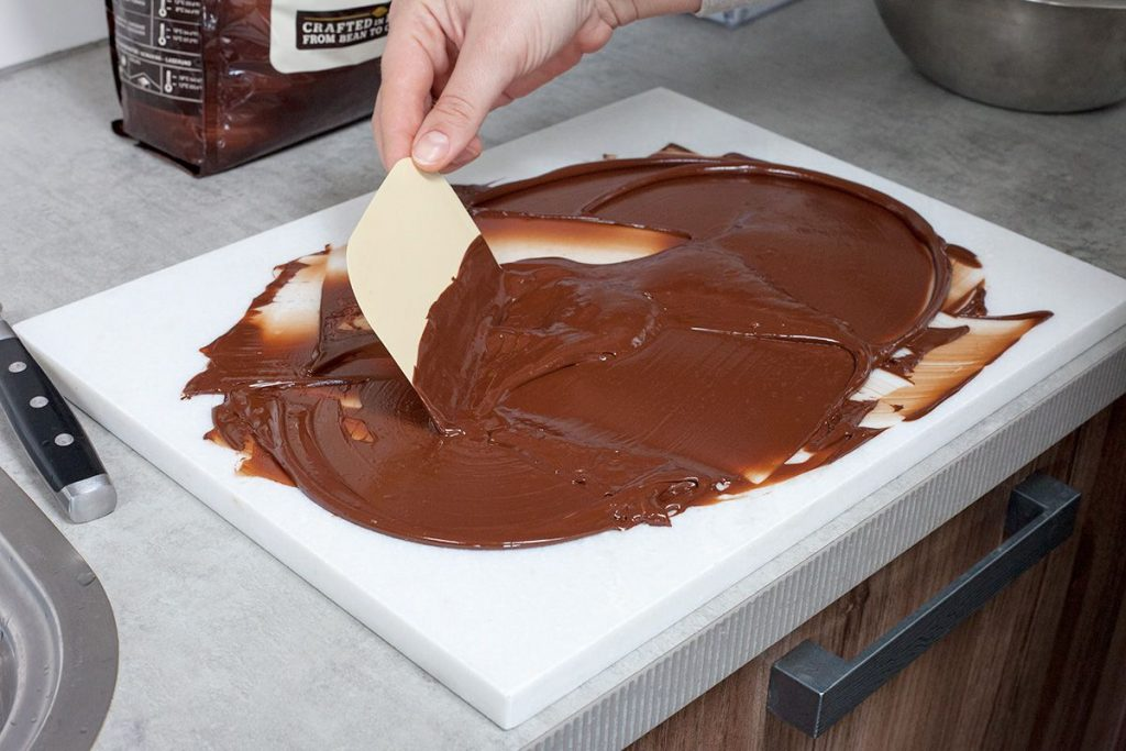 Make your own caramel filled chocolates