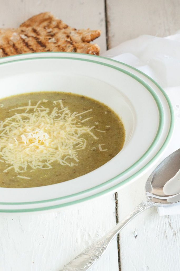 Escarole and potato soup