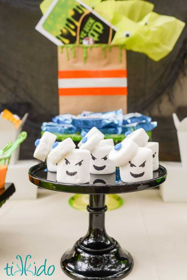 Ghostbusters stay puft marshmallow treats