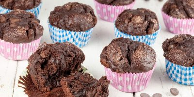 Dark chocolate muffins 400x200 - Homepage