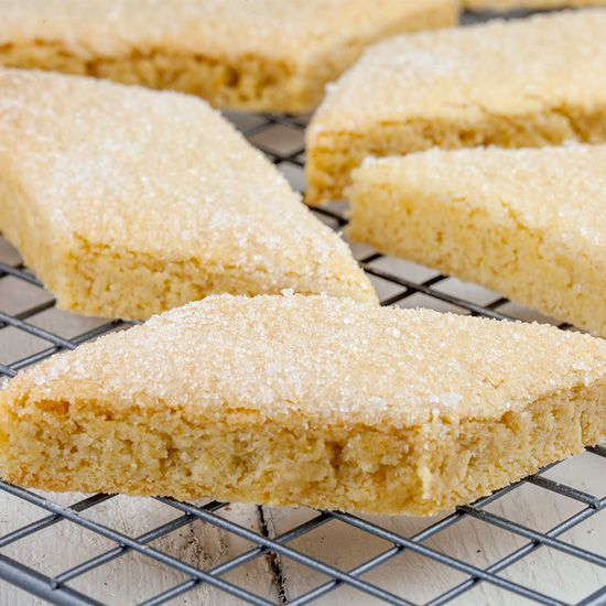 Dutch brittle cookies a.k.a. knapkoek