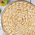 Thin crusted apple pie 120x120 - Homemade almond paste