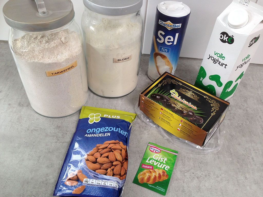 Date nut bread ingredients