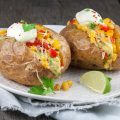 Mexican jacket potatoes