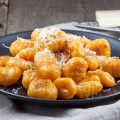Pumpkin gnocchi 120x120 - Roast beef with quince and pumpkin