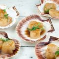 Scallops with balsamic caramel