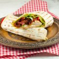 Chicken and mango tortilla wraps 120x120 - Super fast tortilla roll-ups with chicken