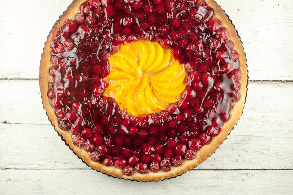 Dutch cherry pie – kersenvlaai