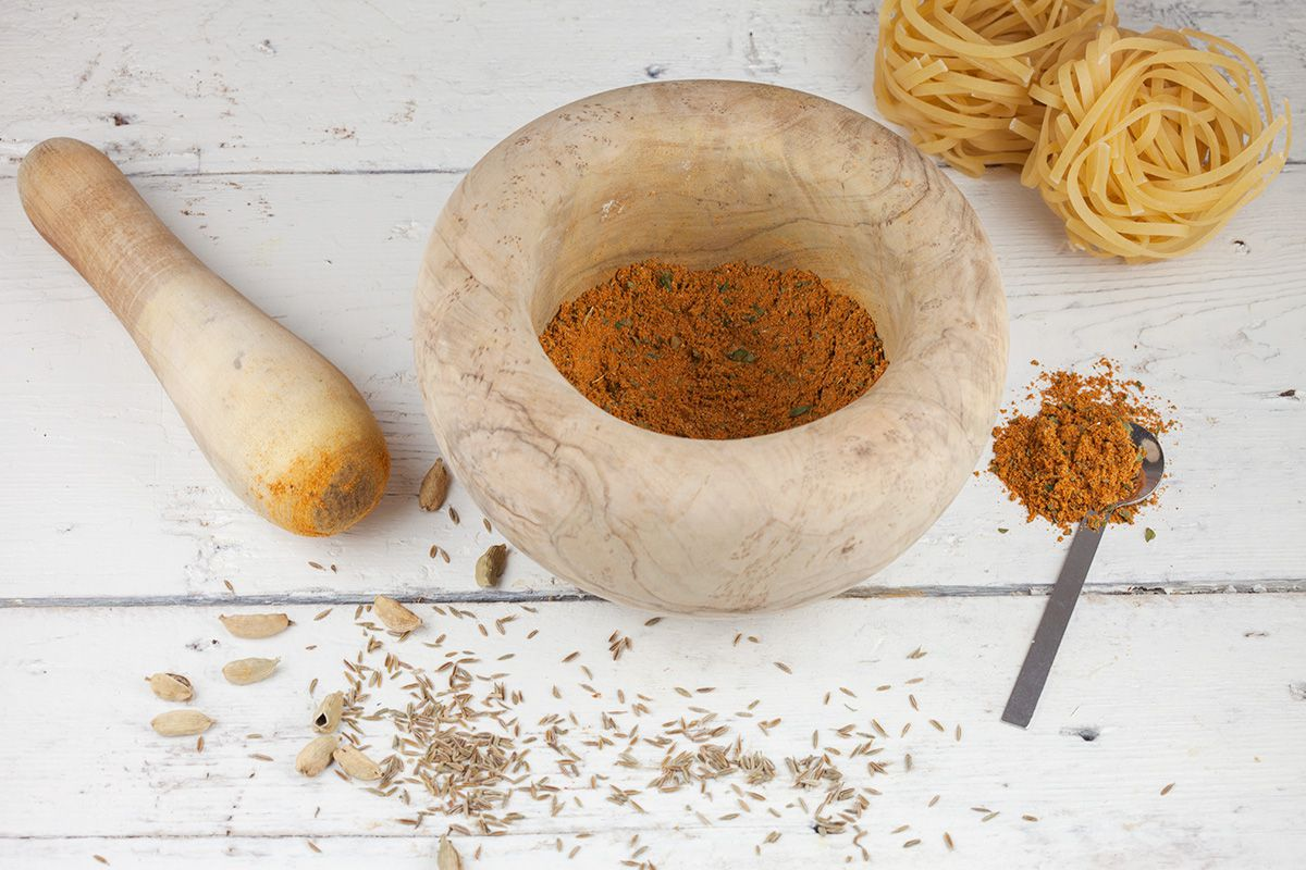 How to make bami goreng spice mix