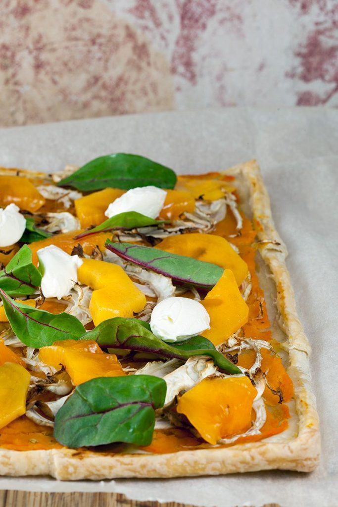 Pumpkin and fennel puff pastry tart 2 683x1024 - Pumpkin and fennel puff pastry tart
