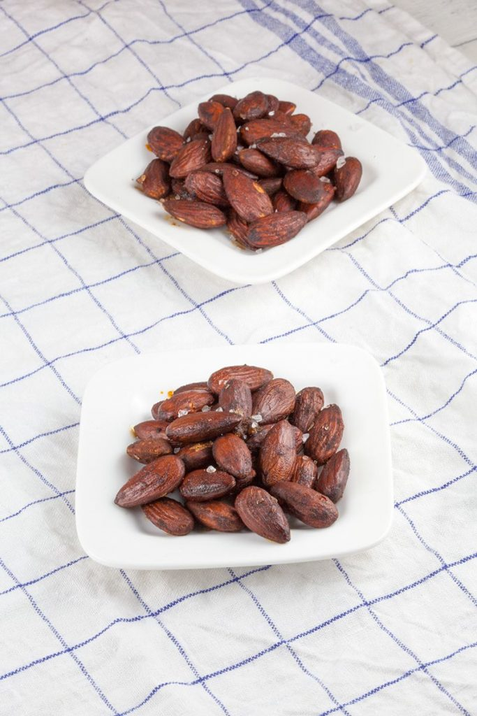 Roasted almonds with smoked paprika 2 683x1024 - Roasted almonds with smoked paprika