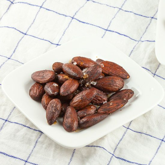 Roasted almonds with smoked paprika square - Roasted almonds with smoked paprika