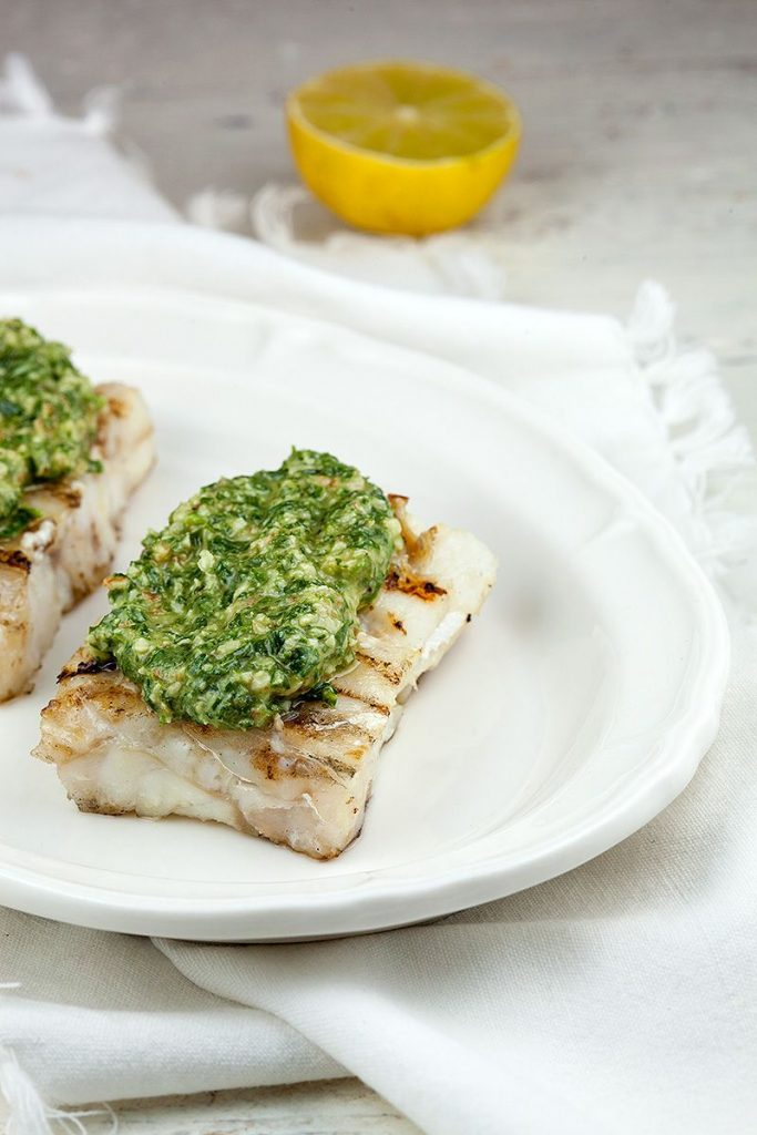 Barbecued cod with walnut pesto 2 683x1024 - Barbecued cod with walnut pesto