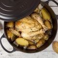 One-pot whole roasted chicken with fennel