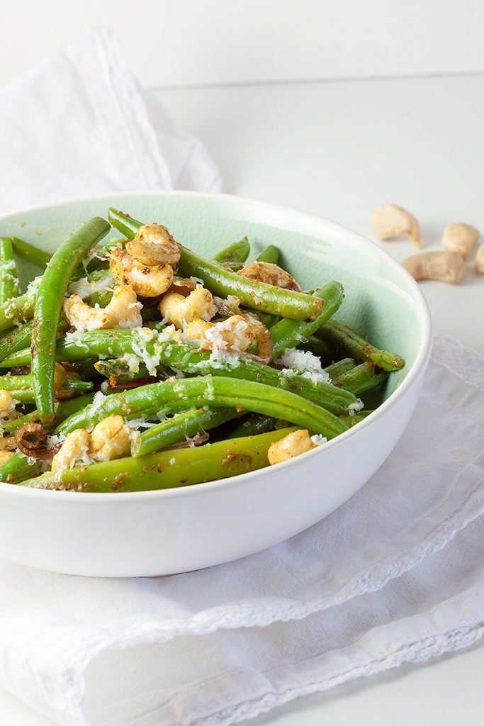 Curried green beans with cashews 2 683x1024 - Curried green beans with cashews