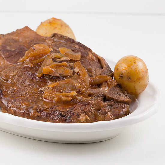 Braised pork shoulder