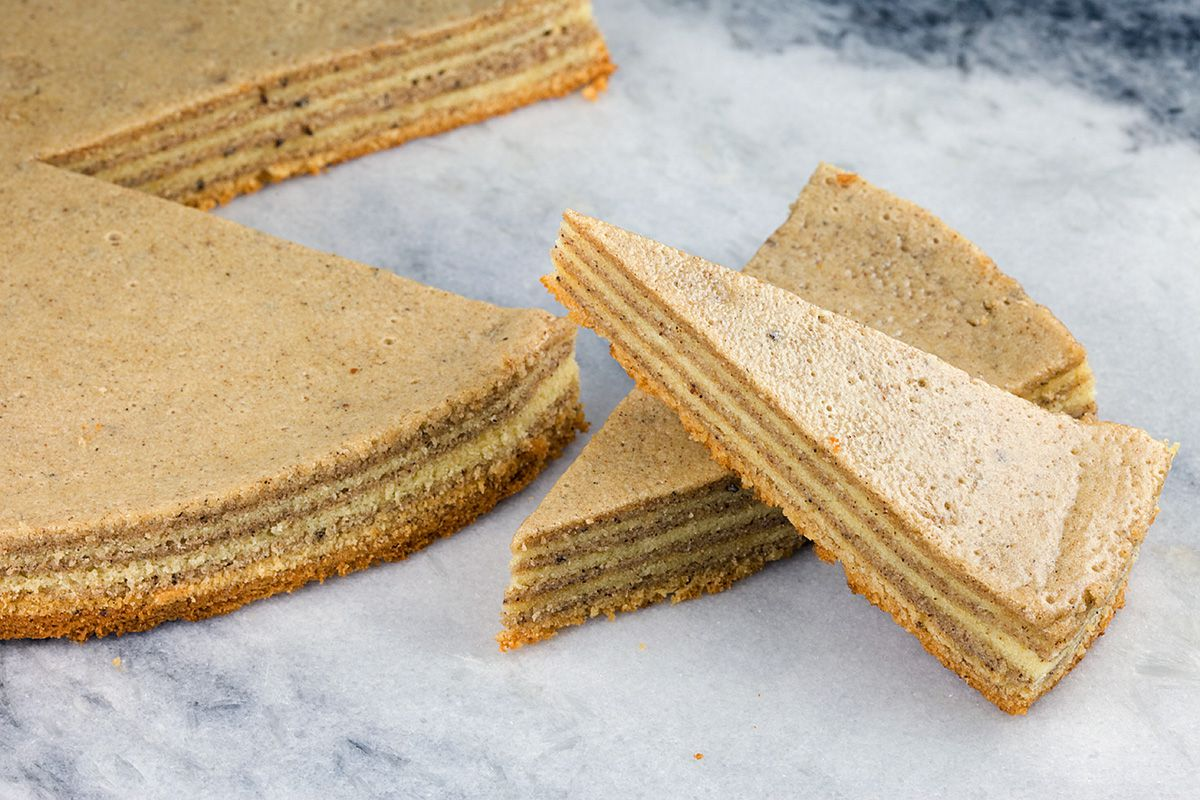 Dutch-Indonesian thousand layer cake a.k.a. spekkoek