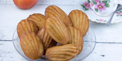 Apple and cinnamon madeleines 400x200 - Homepage