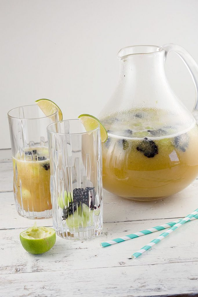 Drinkable fruit salad