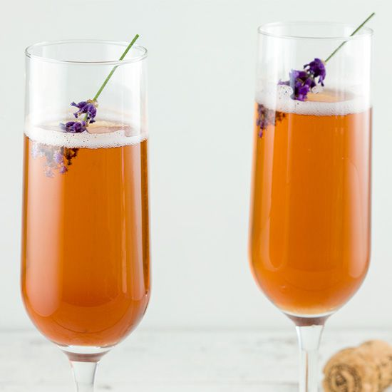 Lavender Kir Royal square - Lavender Kir Royal