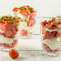 Strawberry mascarpone dessert 120x120 - Quark, strawberry and coffee dessert
