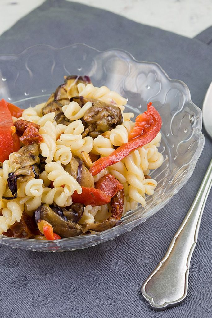 Roasted vegetables pasta salad 2 683x1024 - Roasted vegetables pasta salad