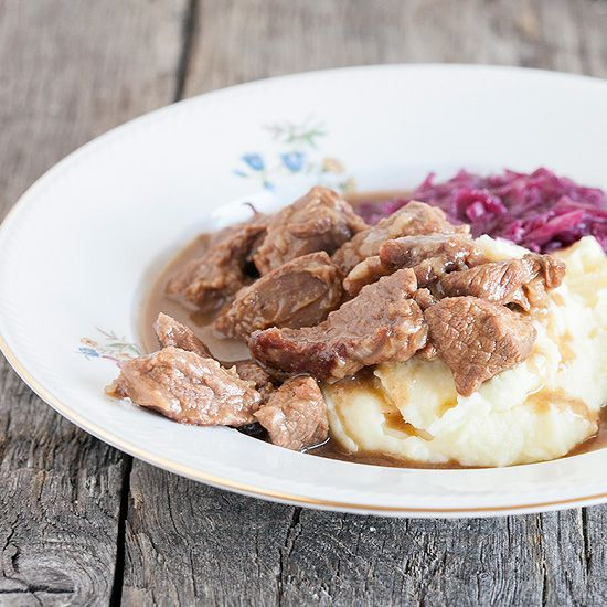 Classic hachee – Dutch beef stew