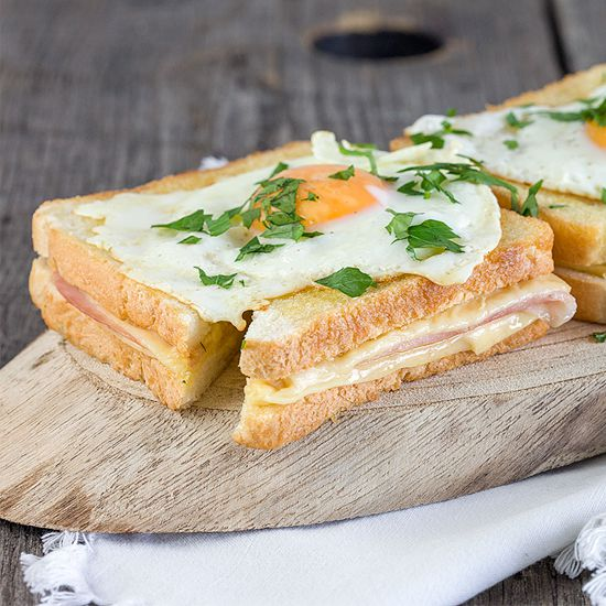 Croque madame square - Croque madame