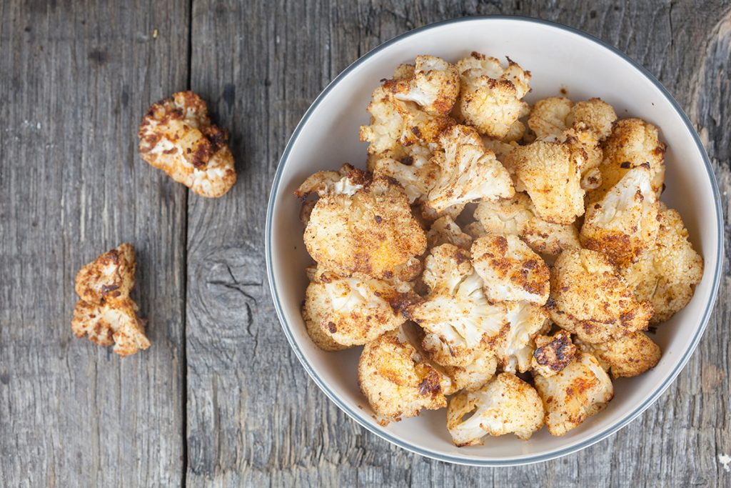 Roasted spiced cauliflower