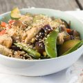 Sesame chicken and vegetable stir fry 120x120 - Cod with vegetable stir fry