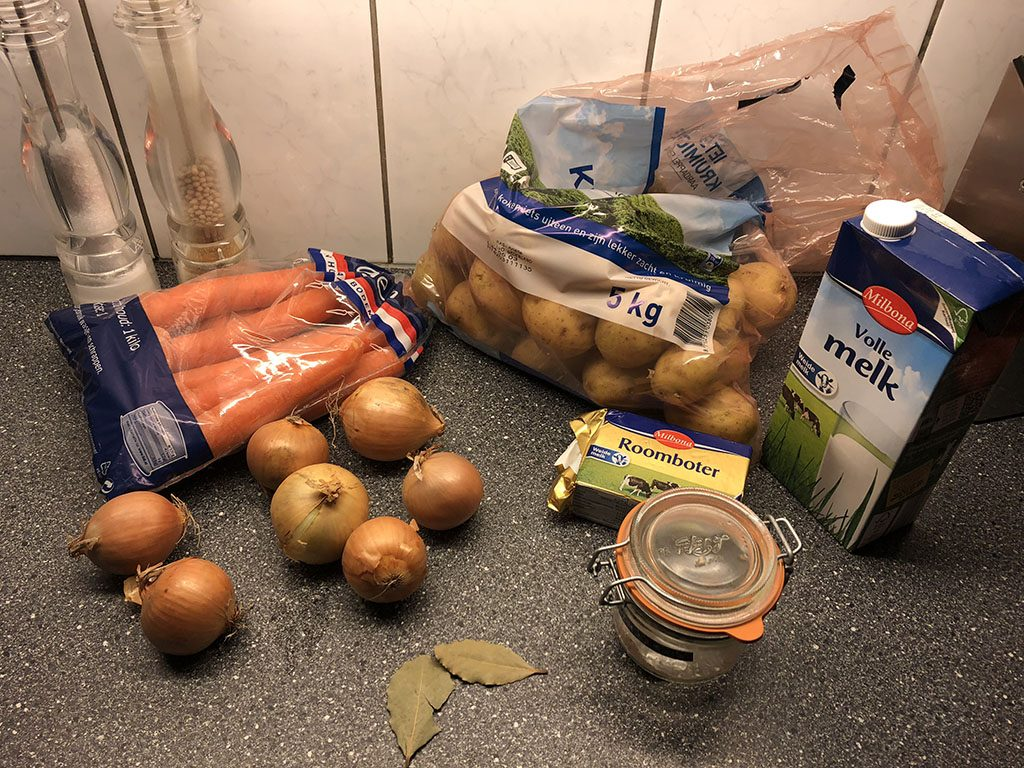 Dutch hutspot ingredients
