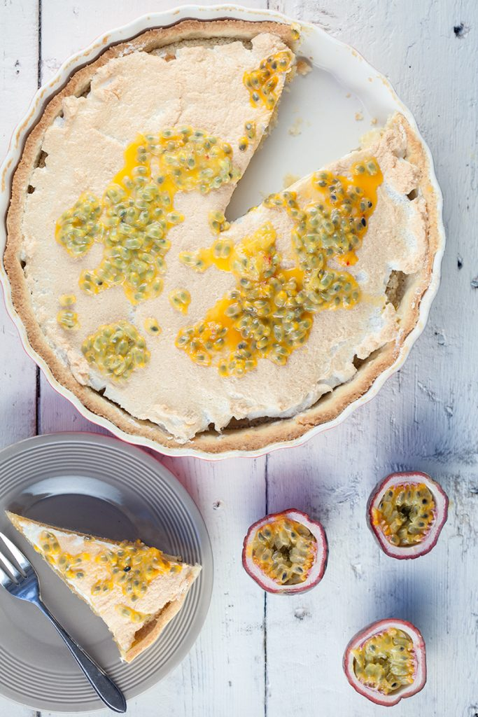 Frangipane and passion fruit pie 2 683x1024 - Frangipane and passion fruit pie