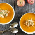 Carrot and apple soup 120x120 - Carrot puree