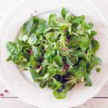 Salad with pink peppercorn dressing 120x120 - Autumn salad with warm coarse mustard dressing