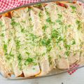 Ground beef enchiladas 120x120 - Spiced ground beef phyllo dough rolls