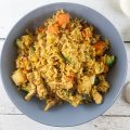 Quick nasi goreng with pork 120x120 - Indonesian nasi goreng