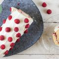 Raspberry cake roll 120x120 - Super fast tortilla roll-ups with chicken