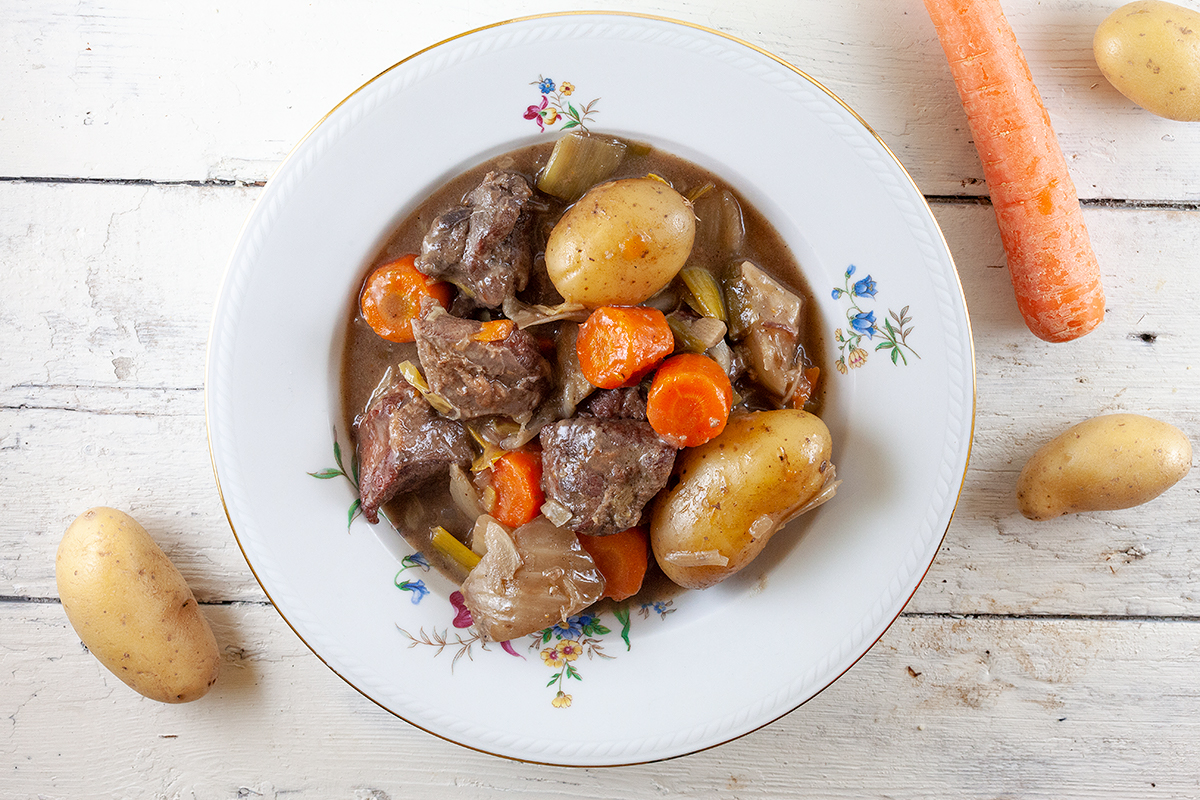 Beef and fennel stew