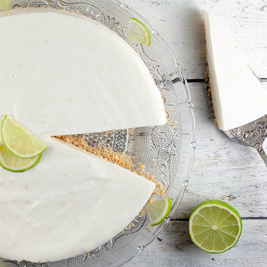 Lime quark pie square - Lime quark pie