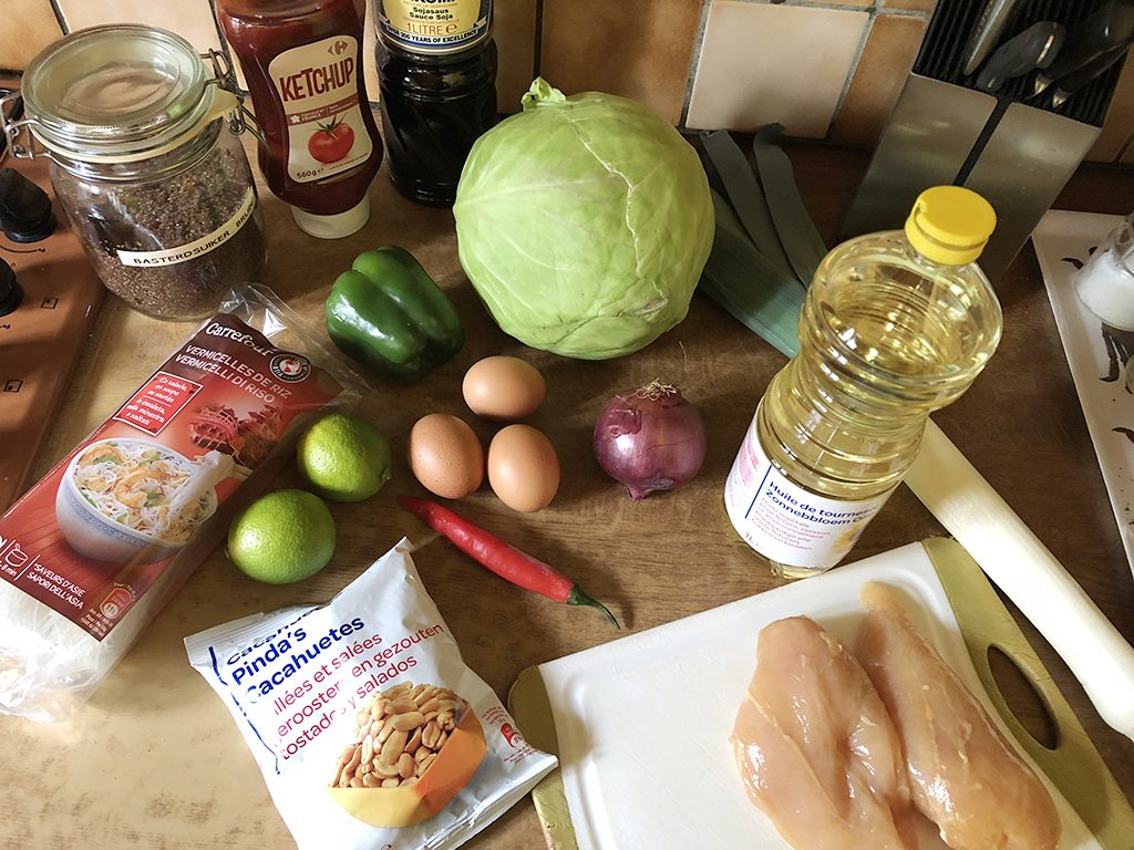 Pad thai ingredients 1024x768 - Pad thai