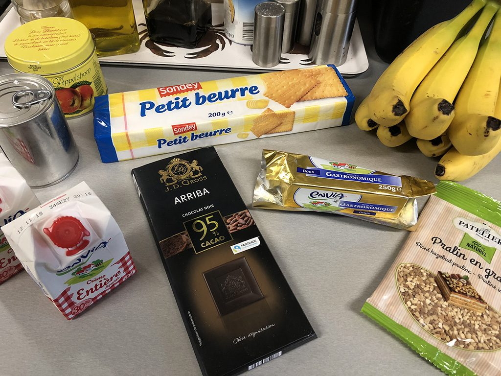 Banoffee pie ingredients