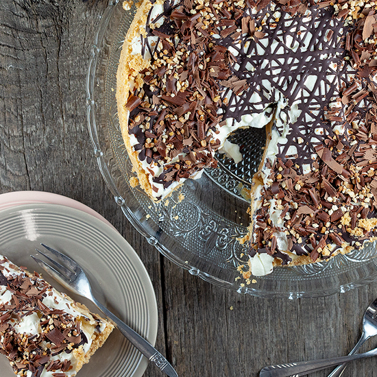Banoffee pie square - Banoffee pie