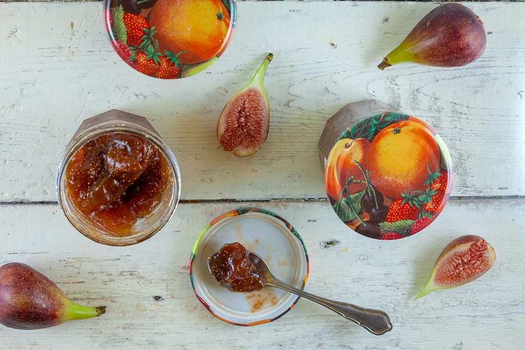 Homemade fig jam