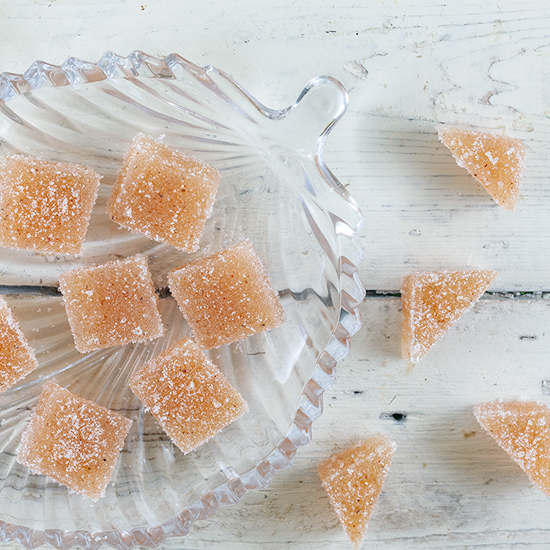 Quince candy square - Quince candy