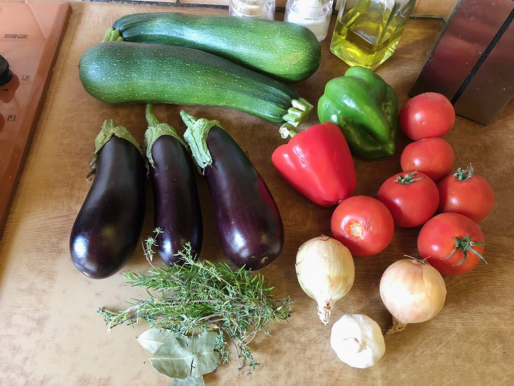 Ratatouille ingredients 1024x768 - Ratatouille