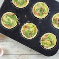 Savory mini turnip pies