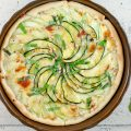 Zucchini quiche 120x120 - Stuffed zucchini with ricotta and bacon