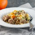 Spicy couscous with meatballs and pumpkin 120x120 - Pumpkin chili
